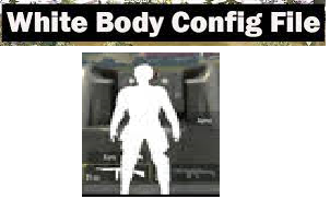 PUBG White Body file 1.6.2Download For Android [White Body+les Recoil + 90FPS+black sky+ NO grass]